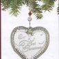 Waterford Annual Holiday Retired 2008 Our First Christmas Heart Ornament SKU: 146645