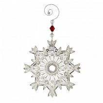 Waterford Annual Snowcrystal Pierced Ornament