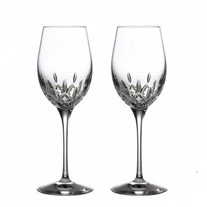 Waterford Lismore Essence Lismore Essence White Wine, Set Of 2