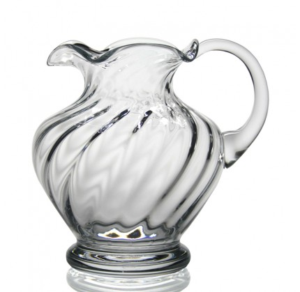 Dakota spiral jug paris jewelers gifts for William yeoward crystal patterns