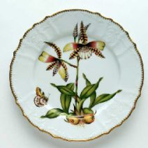 Anna Weatherley Orchid Dinner Plate