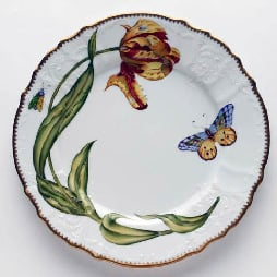 Anna Weatherley Tulips Dinner Plate