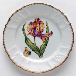 Anna Weatherley Tulips Salad Plate