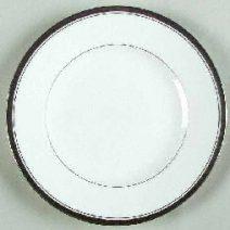Harcourt Platinum Salad Dessert Plate