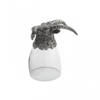 Arte Italica Animale Goat Liqueur Glass