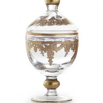 Arte Italica Baroque Gold Canister With Lid