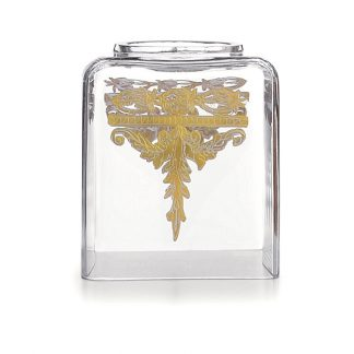 Arte Italica Baroque Gold Tissue Box Holder
