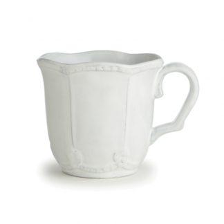 Arte Italica Bella Bianca Beaded Mug