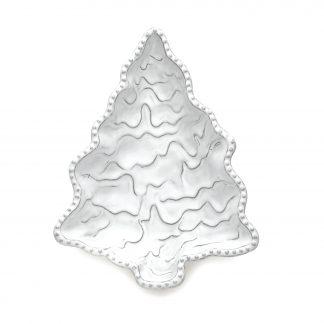 Arte Italica Bella Natale Small Rectangular Platter