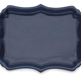 Arte Italica Burano Blue Tray With Handles