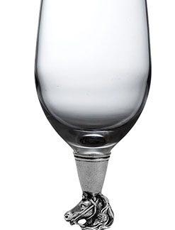 Arte Italica Cavallo Water/Wine Glass