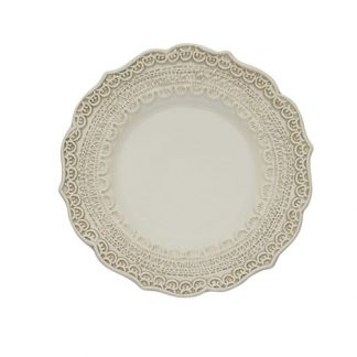 Arte Italica Finezza Cream Bread Plate