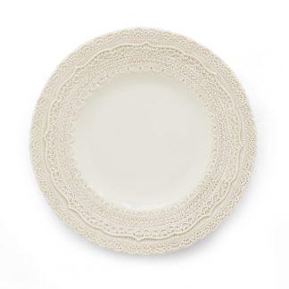 Arte Italica Finezza Cream Salad/Dessert Plate