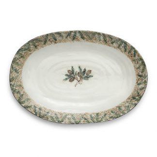 Arte Italica Foresta Large Oval Platter