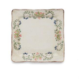 Arte Italica Medici Festivo Square Platter