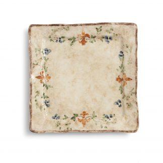 Arte Italica Medici Square Dinner Plate
