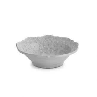 Arte Italica Merletto White Cereal Bowl