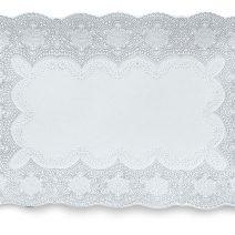 Arte Italica Merletto White Rectangular Tray