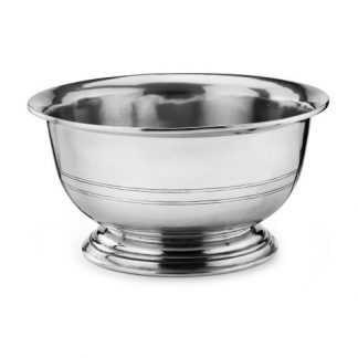 Arte Italica Peltro Footed Serving Bowl
