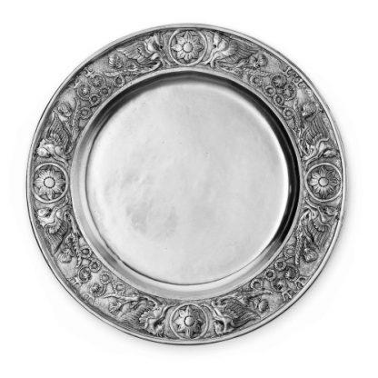 Arte Italica Peltro Large Medival Platter