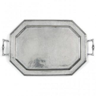 Arte Italica Peltro Octagonal Tray