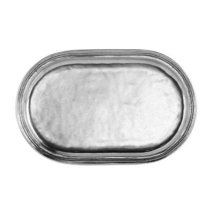 Arte Italica Peltro Oval Tray
