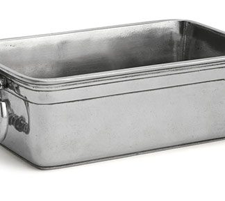 Arte Italica Peltro Rectangular Bread Server