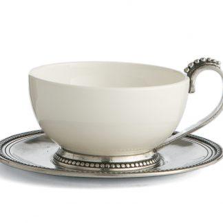 Arte Italica Perlina Cup & Saucer