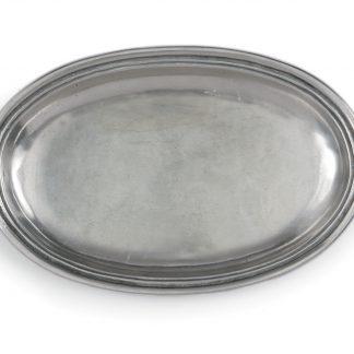 Arte Italica Roma Peltro Oval Dish