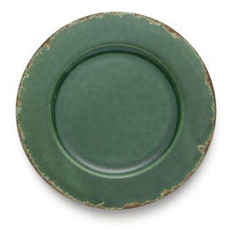 Arte Italica Scavo Green Charger