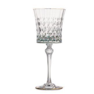 Arte Italica Serena Green Water Glass