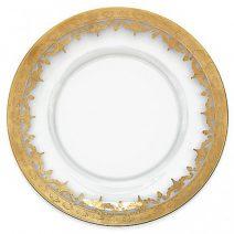 Arte Italica Vetro Gold Charger Set of 2