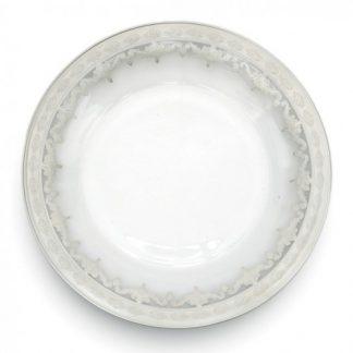 Arte Italica Vetro Silver Dinner Plate