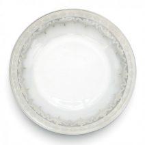 Arte Italica Vetro Silver Dinner Plate Set of 4