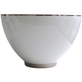Bernardaud Argent Deep Salad Bowl H. 10.6''