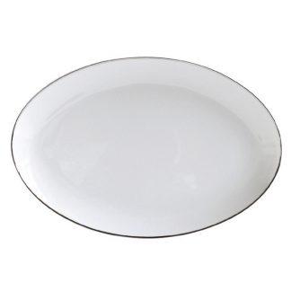 """Bernardaud Argent Oval Platter 13"""""""