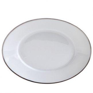 Bernardaud Argent Relish Dish