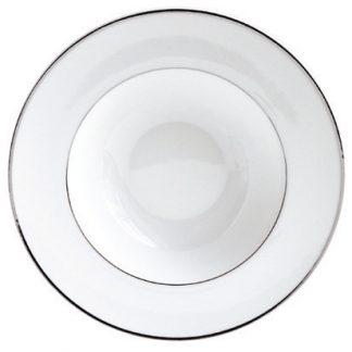 "Bernardaud Argent Soup Plate 8.9"""