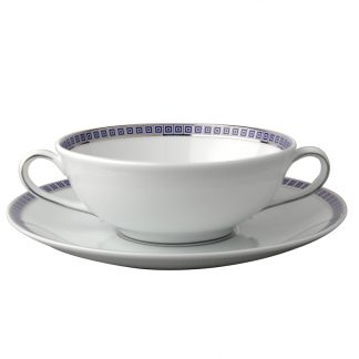 Bernardaud Athena Navy Cream Cup And Saucer
