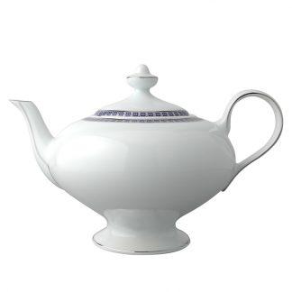 Bernardaud Athena Navy Teapot 12c