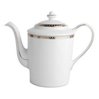 Bernardaud Athena Platine Coffee Pot 12c