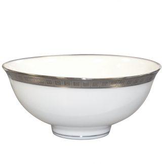"""Bernardaud Athena Platine Rice Bowl 4.7"""""""
