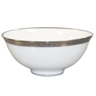 "Bernardaud Athena Platine Soup Bowl 4.3"""