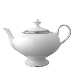 Bernardaud Athena Platine Teapot 12c