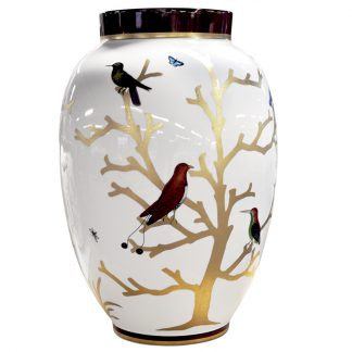 Bernardaud Aux Oiseaux Large Vase