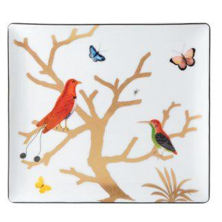 Bernardaud Aux Oiseaux Rectangular Tray Size 3