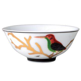 """Bernardaud Aux Oiseaux Rice Bowl 4.7"""""""