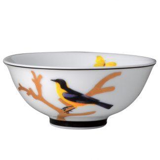 """Bernardaud Aux Oiseaux Soup Bowl 4.3"""""""