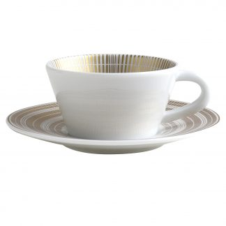 Bernardaud Canisse Coffee Cup & Saucer 2 Oz