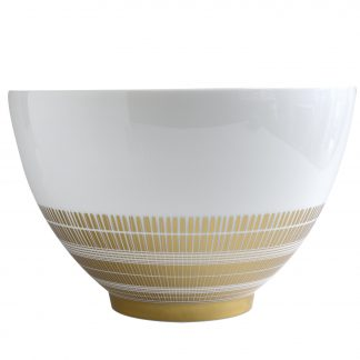 "Bernardaud Canisse Deep Salad Bowl D. 10.6"" H. 6.7"" 142 Oz"